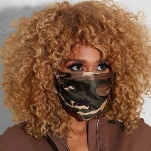Accessories - Camouflage face mask one size
